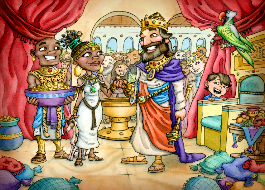 King Solomon and the Queen of Sheeba
